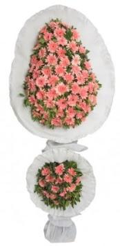 Çift katlı düğün açılış nikah çiçeği modeli  İstanbul Ümraniye çiçek gönderme