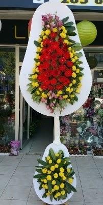Çift katlı düğün çiçekleri  İstanbul Ümraniye çiçek siparişi sitesi