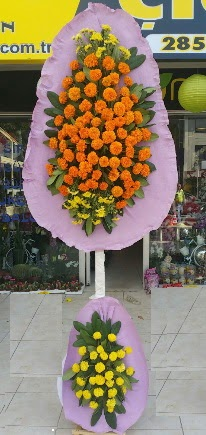 İstanbul Ümraniye cicek , cicekci  Çift katlı düğün nikah çiçeği