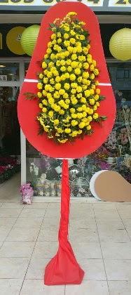 İstanbul Ümraniye online çiçek gönderme sipariş  Tek katlı düğün nikah çiçeği