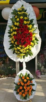 Çift katlı düğün açılış çiçek modeli  İstanbul Ümraniye cicek , cicekci