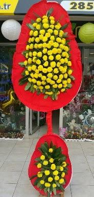 Çift katlı düğün nikah açılış çiçeği  İstanbul Ümraniye internetten çiçek siparişi