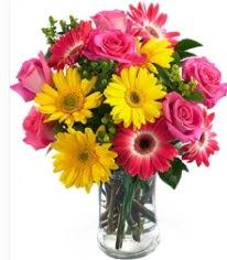 Vazoda Karışık mevsim çiçeği  İstanbul Ümraniye çiçekçi mağazası