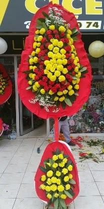 Çift katlı düğün nikah açılış çiçeği  İstanbul Ümraniye anneler günü çiçek yolla