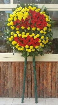 Cenaze çelengi çiçek modeli  İstanbul Ümraniye çiçek mağazası , çiçekçi adresleri