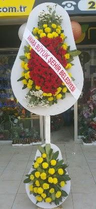 Çift katlı düğün nikah açılış çiçek modeli  İstanbul Ümraniye çiçekçi mağazası