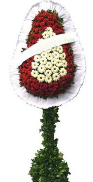 Çift katlı düğün nikah açılış çiçek modeli  İstanbul Ümraniye İnternetten çiçek siparişi