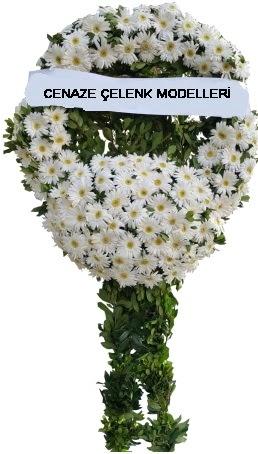 Cenaze çelenk modelleri  İstanbul Ümraniye internetten çiçek siparişi