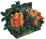 İstanbul Ümraniye internetten çiçek siparişi  Oranj kaliteli bir gül sandigi