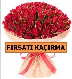 SON 1 GÜN İTHAL BÜYÜKBAŞ GÜL 101 ADET  İstanbul Ümraniye internetten çiçek satışı