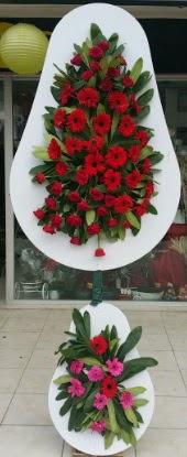 Çift katlı düğün nikah açılış çiçek modeli  İstanbul Ümraniye internetten çiçek siparişi