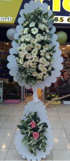 Çift katlı düğün nikah açılış çiçeği  İstanbul Ümraniye çiçekçi telefonları