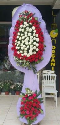 Çift katlı işyeri açılış çiçek modeli  İstanbul Ümraniye ucuz çiçek gönder