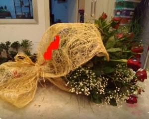 21 adet kırmızı gül kız isteme buketi  İstanbul Ümraniye çiçek gönderme