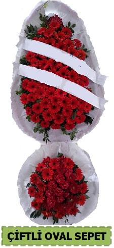 Çift katlı oval düğün nikah açılış çiçeği  İstanbul Ümraniye çiçek gönderme sitemiz güvenlidir