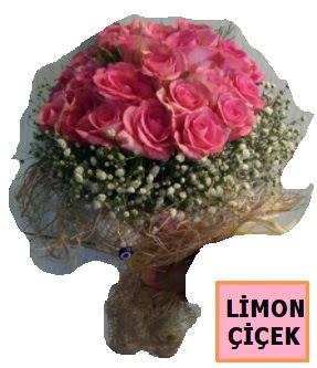 Pembe gül kız isteme söz nişan çiçeği  İstanbul Ümraniye çiçek gönderme