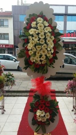 Çift katlı düğün açılış çiçeği  İstanbul Ümraniye çiçek satışı