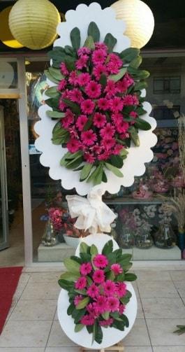 Çift katlı nikah çiçek düğün çiçekleri  İstanbul Ümraniye ucuz çiçek gönder