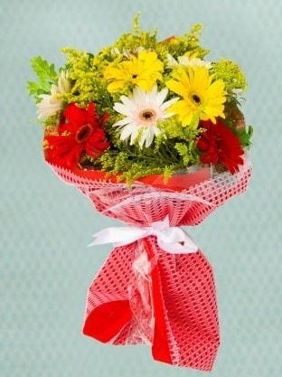 Karışık Gelbera Buketi  İstanbul Ümraniye çiçek siparişi sitesi