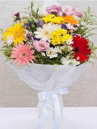 Karışık Mevsim Buketleri  İstanbul Ümraniye ucuz çiçek gönder