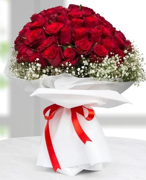 41 adet kırmızı gül buketi  İstanbul Ümraniye çiçek satışı  süper görüntü