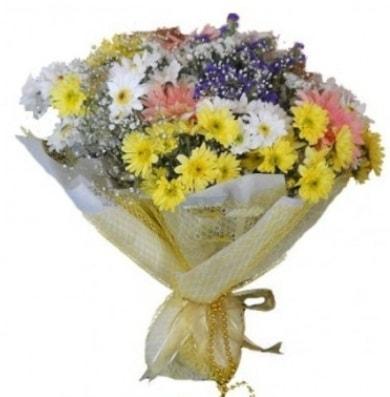 Karışık mevsim çiçeği  İstanbul Ümraniye çiçek satışı