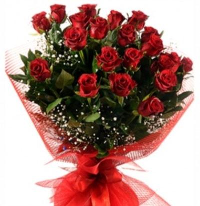 Kız isteme buketi çiçeği sade 27 adet gül  İstanbul Ümraniye çiçek gönderme sitemiz güvenlidir