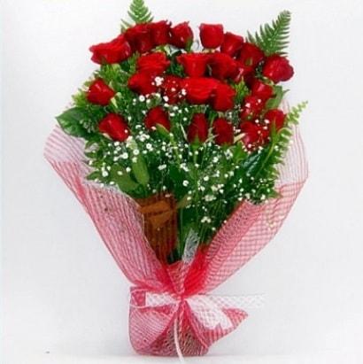Kız isteme buketi çiçeği sade 29 adet gül  İstanbul Ümraniye çiçekçi telefonları