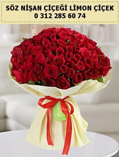 51 adet kırmızı gül söz nişan buketi çiçeği  İstanbul Ümraniye çiçek siparişi sitesi