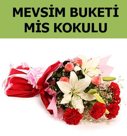 Karışık mevsim buketi mis kokulu bahar  İstanbul Ümraniye ucuz çiçek gönder