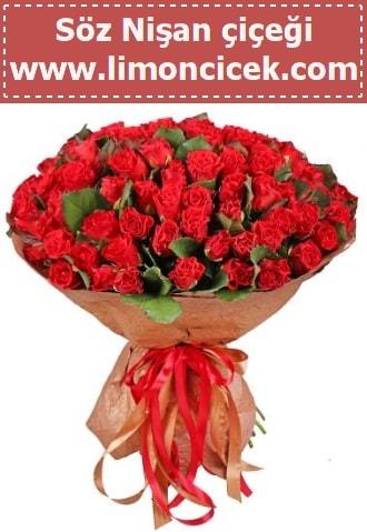 Kız isteme söz nişan çiçeği 101 gül  İstanbul Ümraniye çiçek gönderme sitemiz güvenlidir