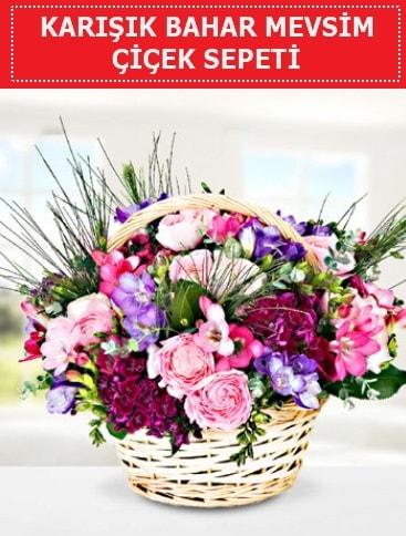 Karışık mevsim bahar çiçekleri  İstanbul Ümraniye ucuz çiçek gönder