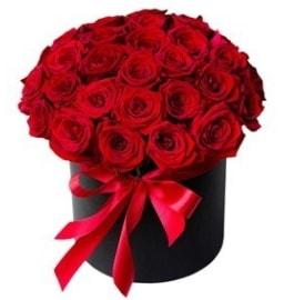 25 adet kırmızı gül kız isteme çiçeği  İstanbul Ümraniye internetten çiçek satışı