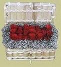 İstanbul Ümraniye cicekciler , cicek siparisi  Sandikta 11 adet güller - sevdiklerinize en ideal seçim